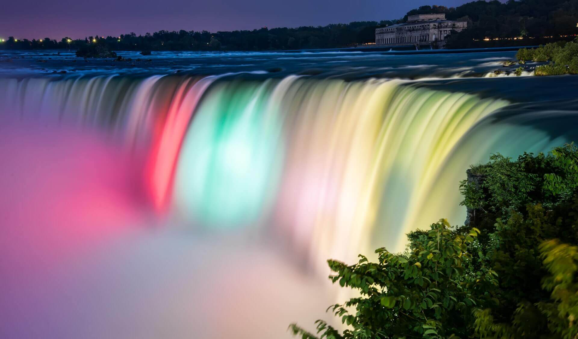 Niagara Falls Evening Tours With Hornblower Boat Cruise